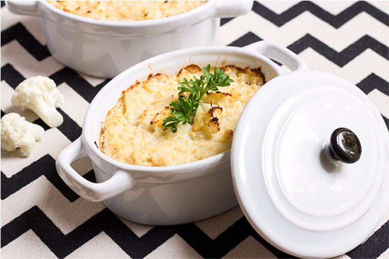 Skinny Mashed Cauliflower
