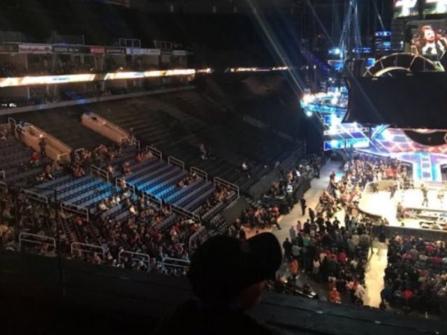 Look: Depressing Turnout for Latest SmackDown Episode