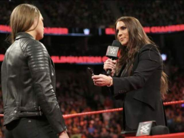 Stephanie McMahon Setting a Trap for Ronda Rousey on RAW?