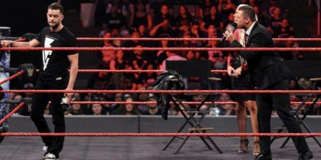The Miz Finn Balor WWE