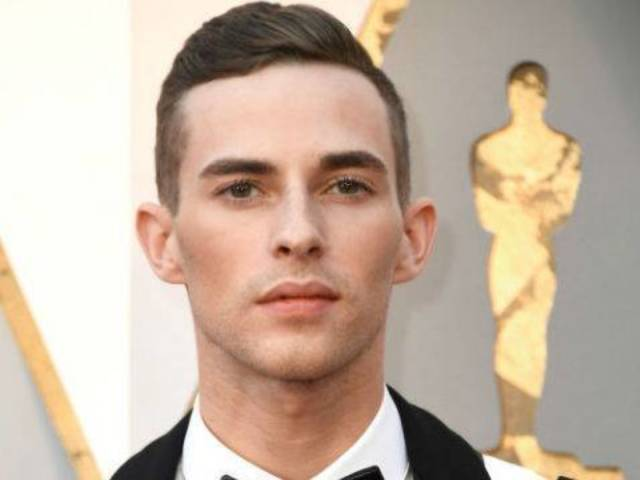 Olympian Adam Rippon Hits Oscars Red Carpet in a Leather Harness