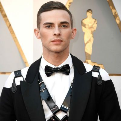 Adam Rippon Walks Oscars 2018 Red Carpet in Bondage-Themed Outfit