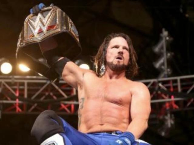 Update on Health of WWE Champion AJ Styles