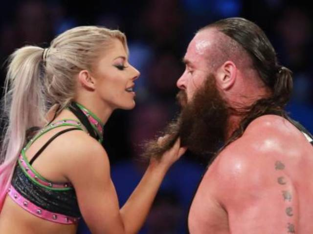 Watch: Sexual Tension Between Braun Strowman and Alexa Bliss Reaches Combustible Levels