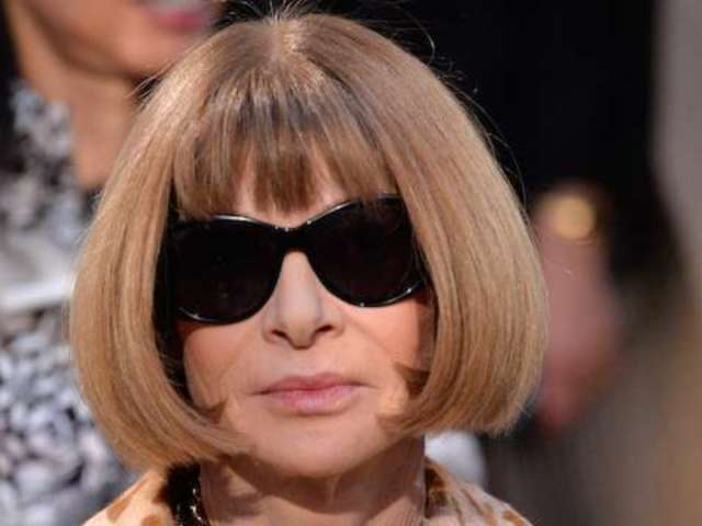 Anna Wintour Finally Spotted Without Her Signature Sunglasses