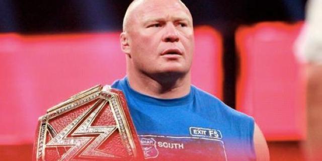 Brock LEsnar RAW wrestlemania roman reigns