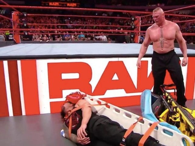 Brock Lesnar Returns to Clobber a Handcuffed Roman Reigns to Open RAW