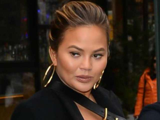Chrissy Teigen 'Saved' After Stepping Into Path of Bicyclist in Perfectly Timed Photos
