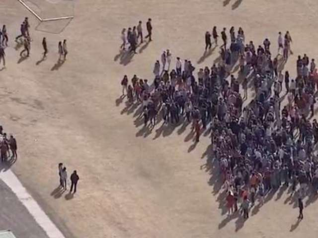Watch Columbine Students Walk out as Part of Nationwide Protest