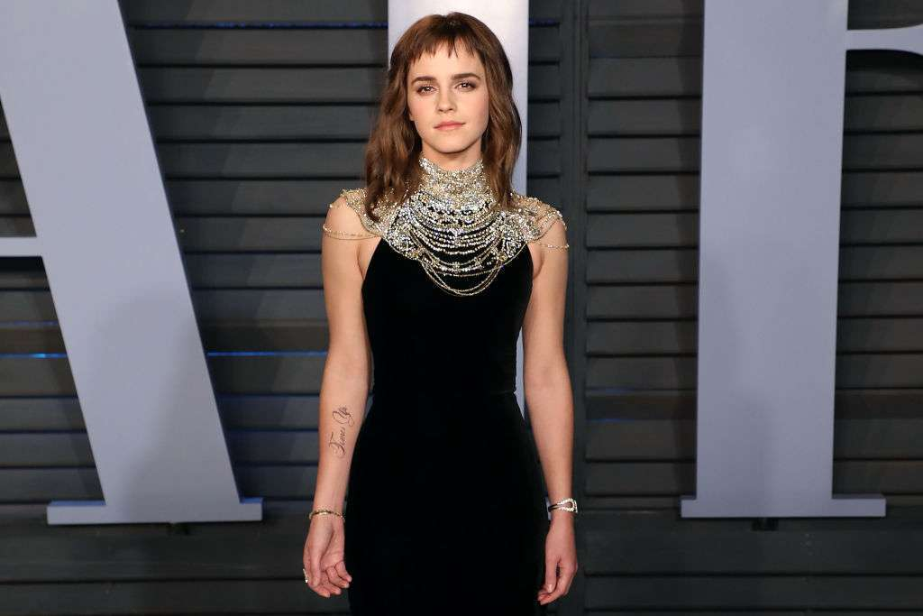 Emma Watson jokes about needing proofreader for Time's Up tattoo