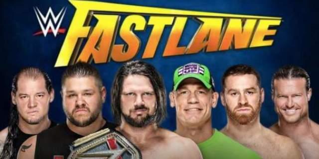 Fastlane wwe cena styles undertaker