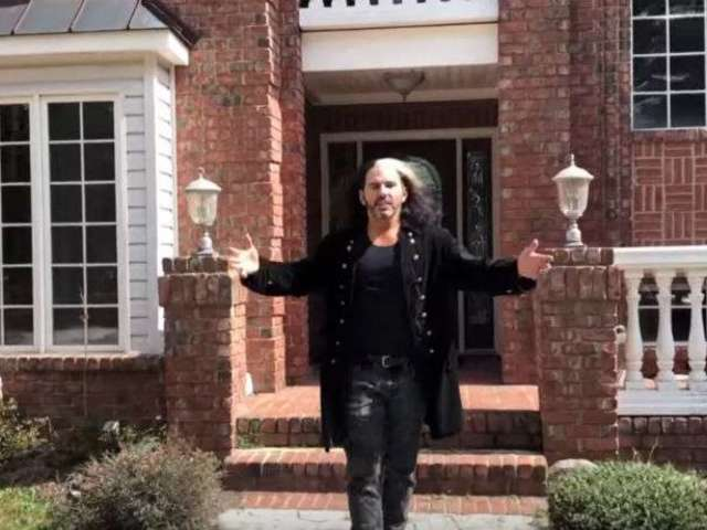 Watch: Matt Hardy Welcomes the WWE Universe to the Hardy Compound