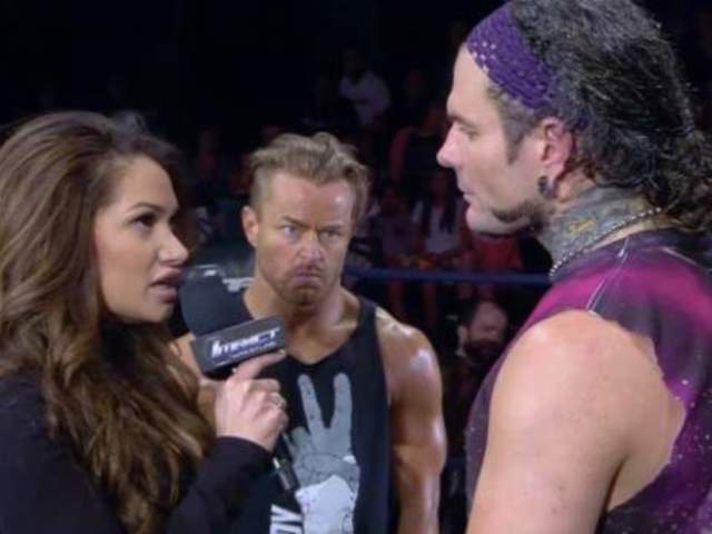 Reby Hardy Slams the Door on Jeff Hardy
