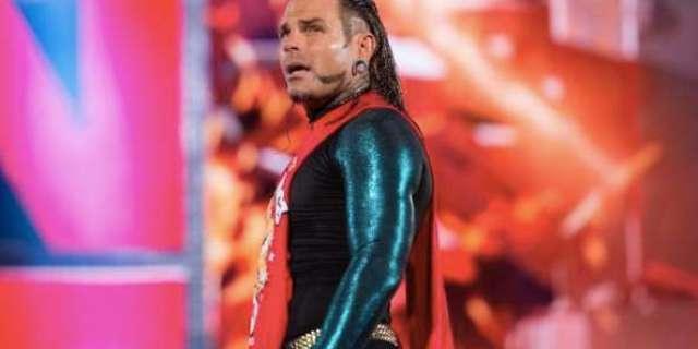 Jeff Hardy WWE Injury DWI