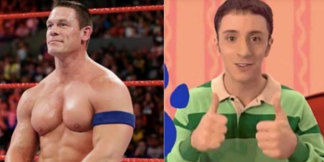 John Cena Blues Clues Host WWE