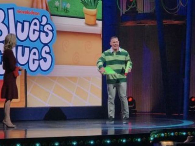 John Cena Auditions for Nickelodeon's 'Blue's Clues'