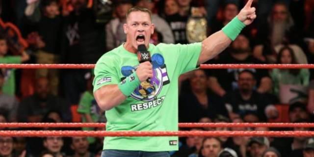 John Cena RAW WrestleMania