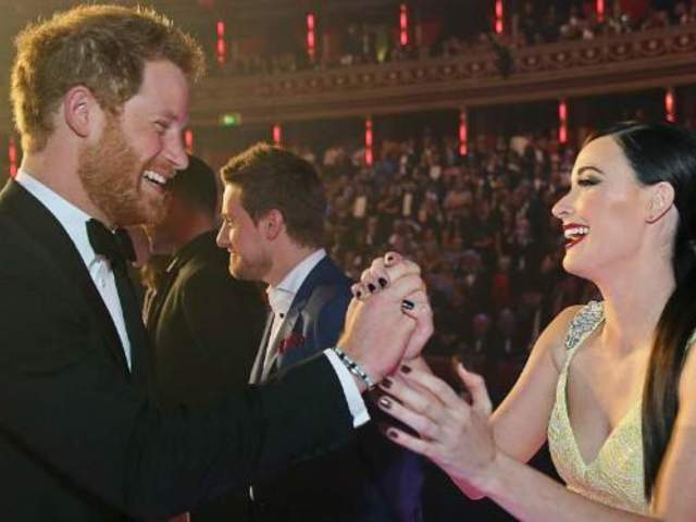 Kacey Musgraves Made History With High-Five to Prince Harry