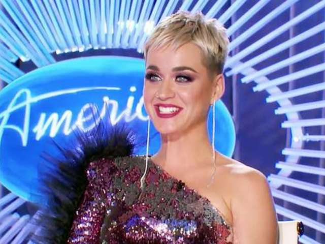 Katy Perry Takes Nasty Spill, Laughs off Wardrobe Malfunction on 'American Idol'