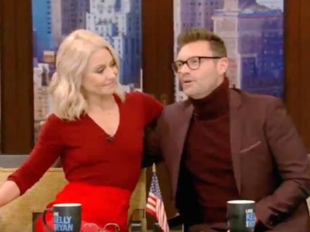Kelly Ripa Speaks out in Support of Ryan Seacrest on 'Live'