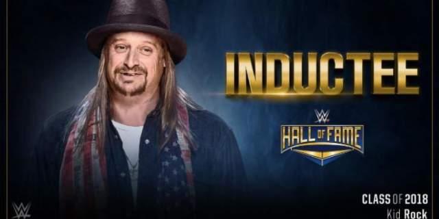 Kid Rock Makes WWE Hall of Fame - aol.com