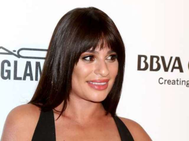 'Glee' Star Lea Michele Takes Wardrobe Malfunction in Stride at Oscars After-Party