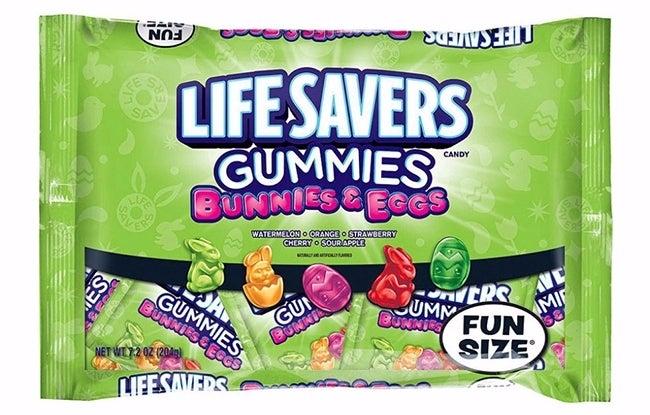 Lifesavers Gummies Bunnies and Eggs