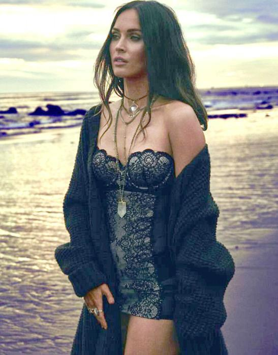 megan-fox-beach-oceanside-lingerie-shoot