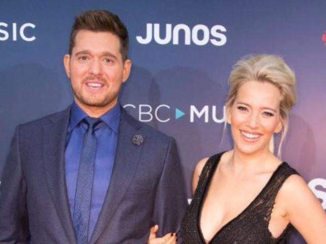 Michael Buble's Wife Shows off Baby Bump After 'Roller Coaster' Year