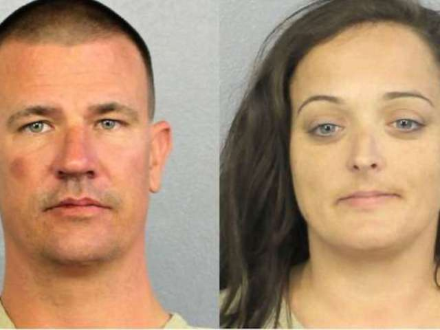 Two Arrested for Plundering Parkland Shooting Memorial