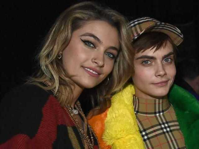 Paris Jackson, Cara Delevingne Spotted in Los Angeles Sharing Passionate Kiss