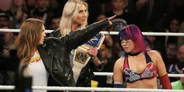 Ronda Rousey Asuka WWE WrestleMania
