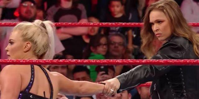 Ronda-Rousey-Dana-Brooke-Raw