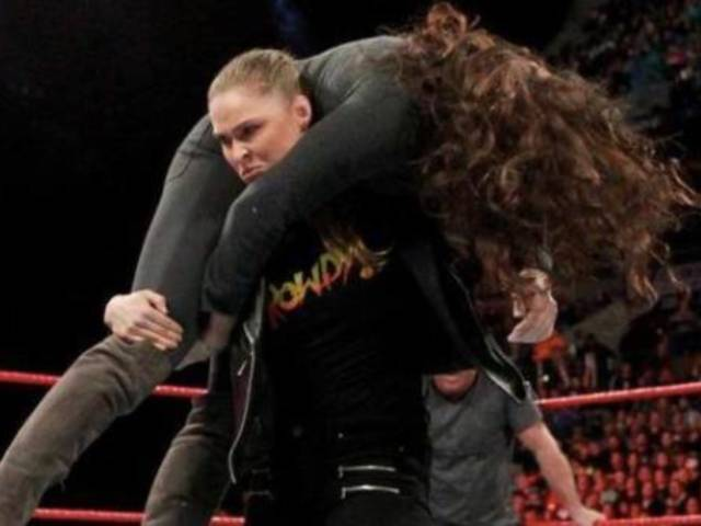 Ronda Rousey Names Pair of Wrestling Moves