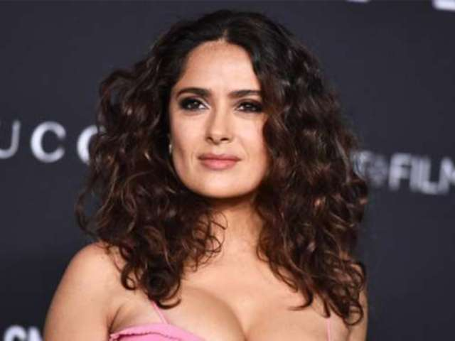 Salma Hayek Recalls Breastfeeding Another Woman's Baby: 'They Could Have Milked That Milking Moment'