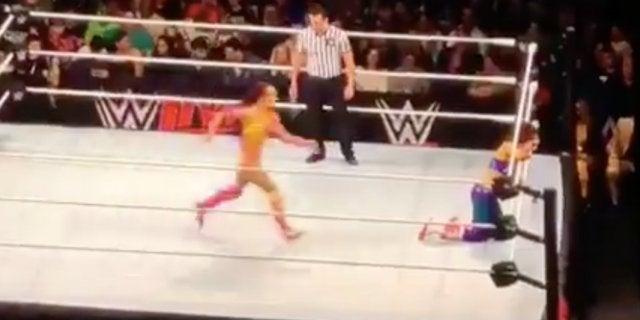 Watch: Sasha Banks Nails Rey Mysterio's '619' in Madison Square Garden