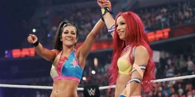 Sasha Banks Bayley WWE WrestleMania 34