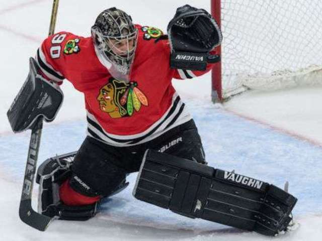 Accountant Hits the Ice as Blackhawks Goalie to Stop 7 Shots