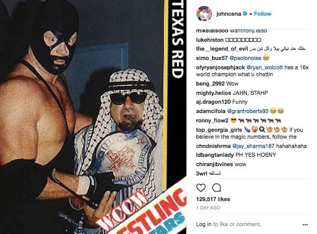 John Cena Turns Up Heat on The Undertaker with Hilarious Photo