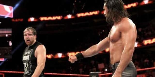 Seth Rollins Dean Ambrose WWE WrestleMania