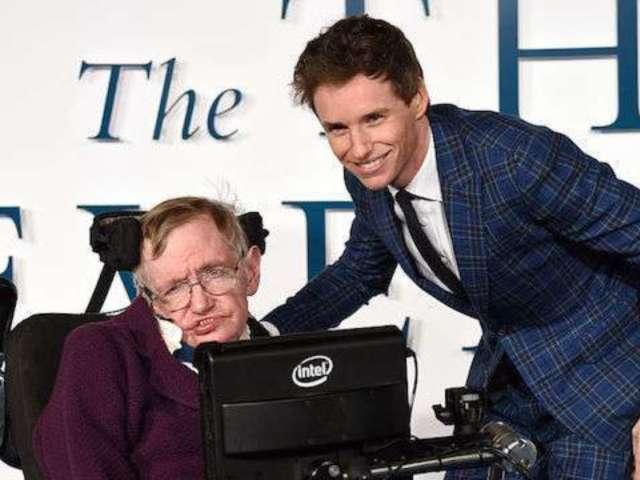 Eddie Redmayne Pays Tribute to Stephen Hawking After His Death