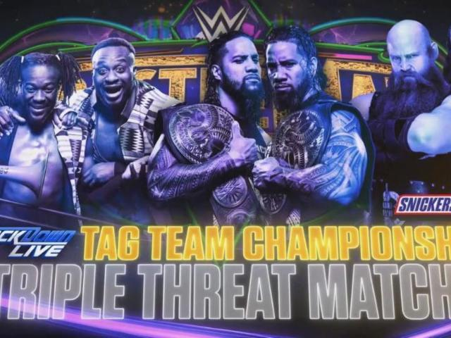 WWE Rumor: SmackDown Tag Team Championship to Be Defended in TLC Match at WrestleMania