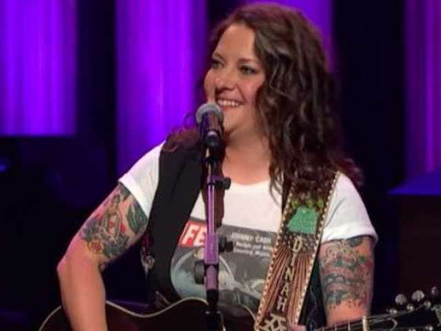 Watch Ashley McBryde's Teary Opry Performance of 'Girl Goin' Nowhere'