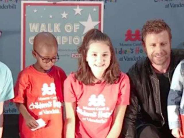 Dierks Bentley Honored by Vanderbilt Children's Hospital For Charitable Contributions