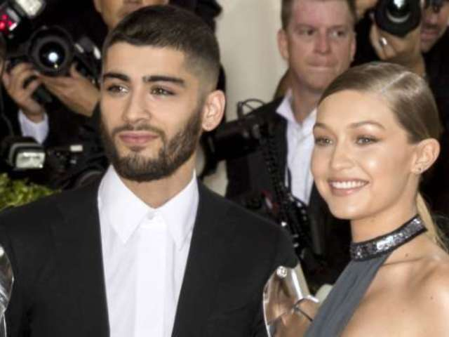 Gigi Hadid and Zayn Malik Seal With a Kiss That They Might Be on Again