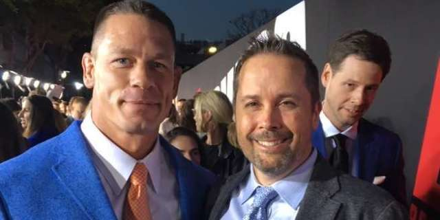 Actor John Cena and Composer Mateo Messina