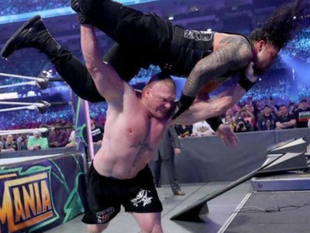WrestleMania 34: Fans Shocked by Brock Lesnar Retaining Universal Championship