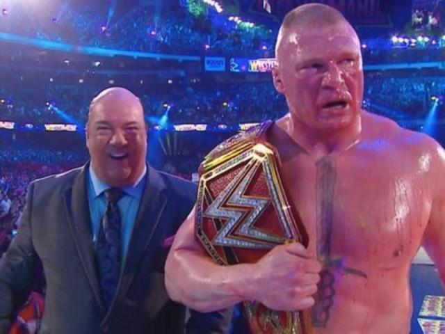New Details on Brock Lesnar's WWE Contract, WrestleMania Finish