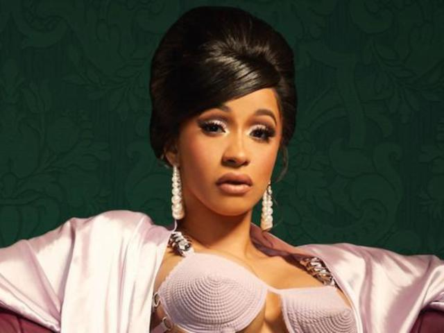 Cardi B Flaunts Bare Baby Bump on Front Cover of 'Rolling Stone'