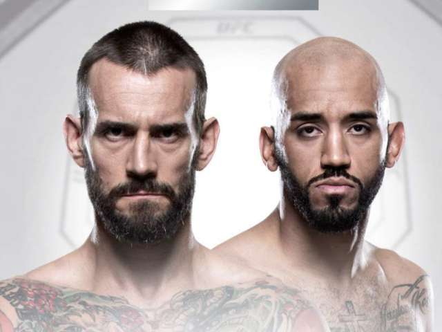 CM Punk's Next UFC Fight Officially Announced for June